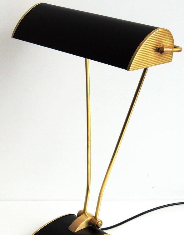 JUMO. Art Deco-Schreibtischlampe