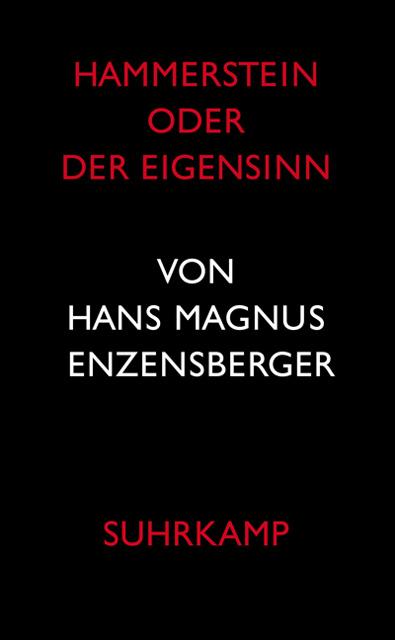 Hammerstein oder Der Eigensinn