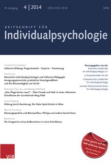 Zeitschrift für Individualpsychologie (ZfIP)