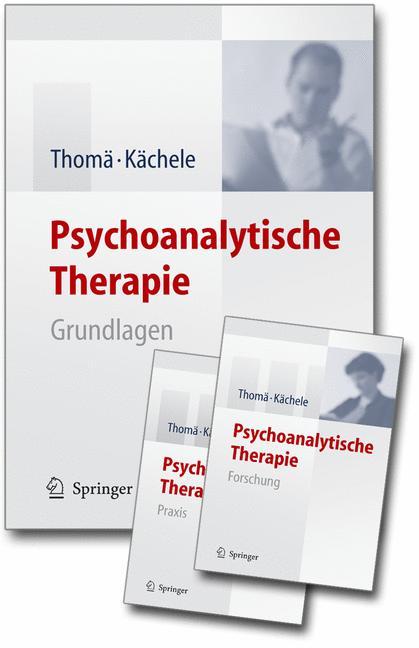 Psychoanalytische Therapie, 3 Bände (= alles)