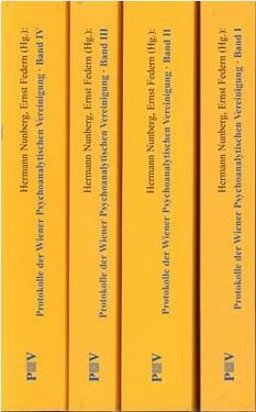 Protokolle der Wiener Psychoanalytischen Vereinigung, Bände I–IV (alles)