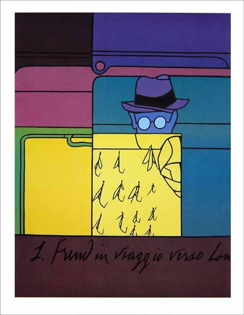 ›Freud in viaggio verso Londra‹