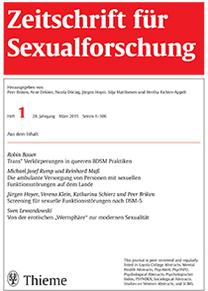 Zeitschrift für Sexualforschung