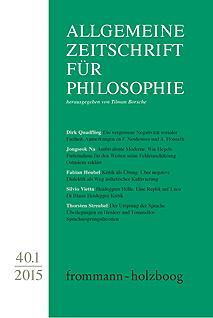 Allgemeine Zeitschrift für Philosophie AZP