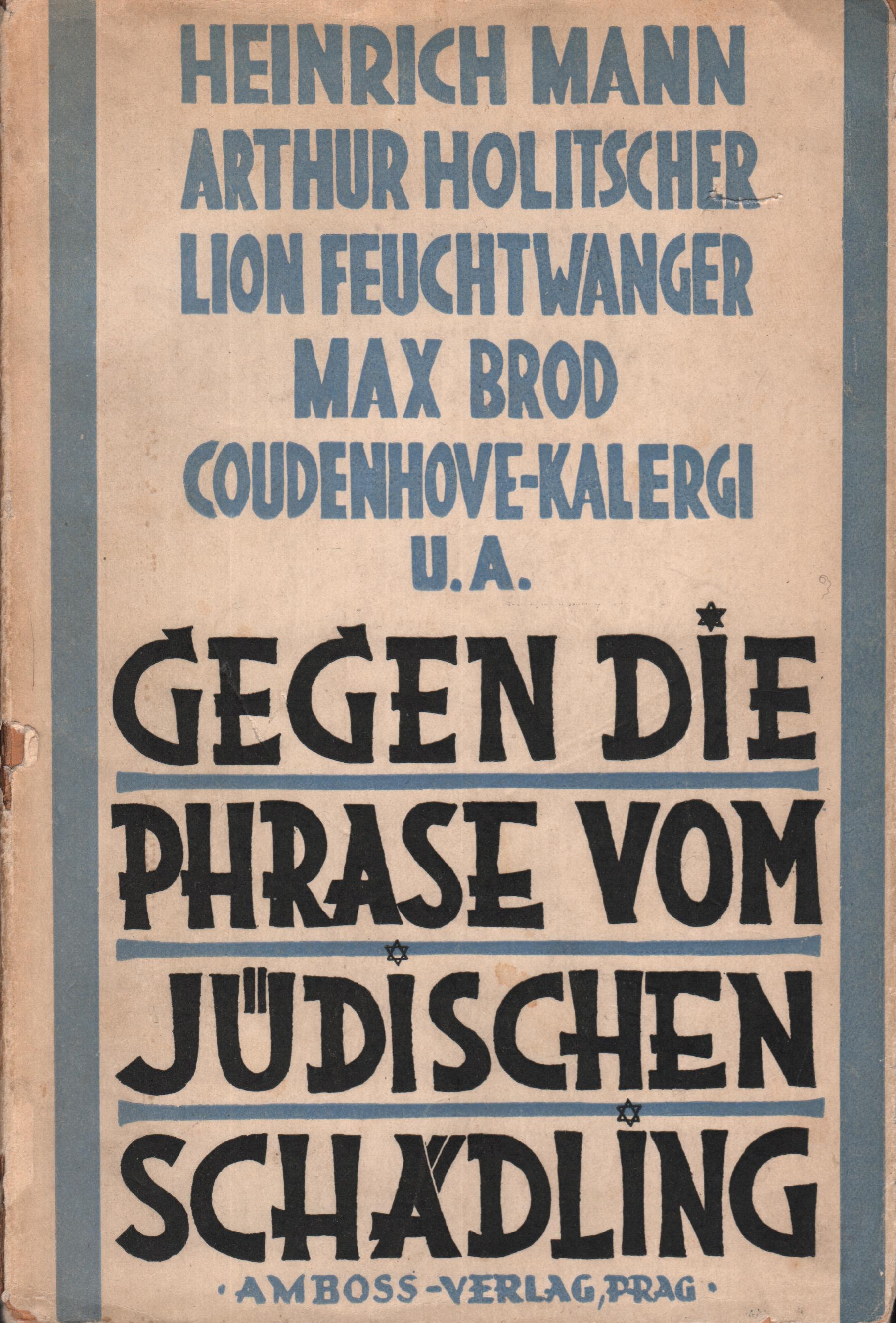 Gegen die Phrase vom Jüdischen Schädling