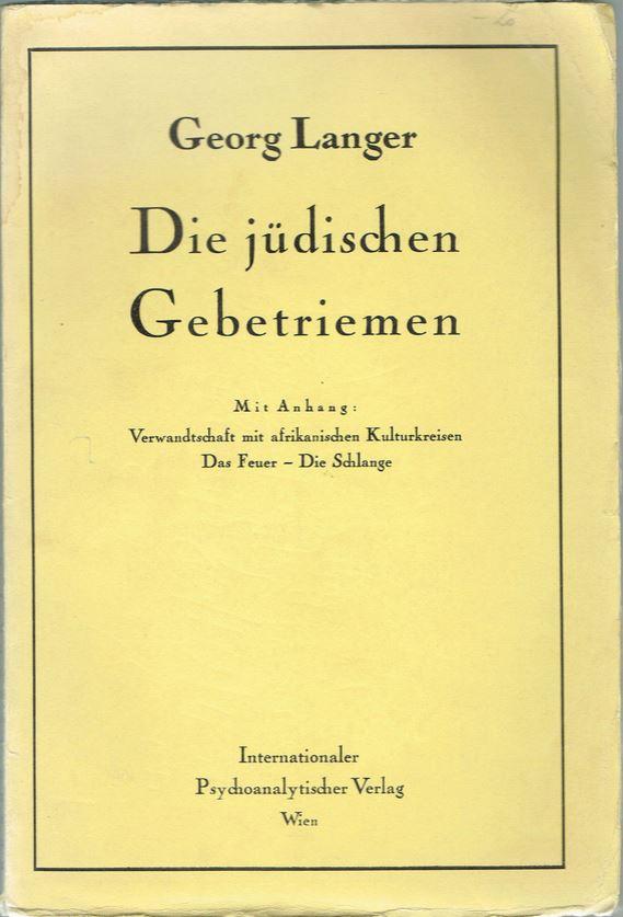 Die jüdischen Gebetsriemen (Phlakterien)