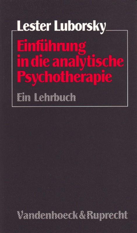 Einführung in die analytische Psychotherapie