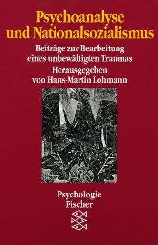 Psychoanalyse und Nationalsozialismus