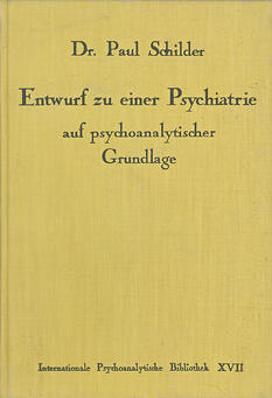 Entwurf zu einer Psychiatrie