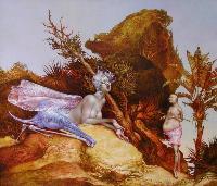 Ödipus vor Sphinx