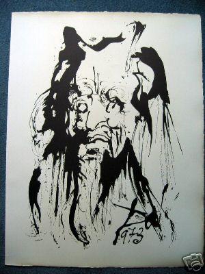 Sigmund Freud (Original-Radierung)