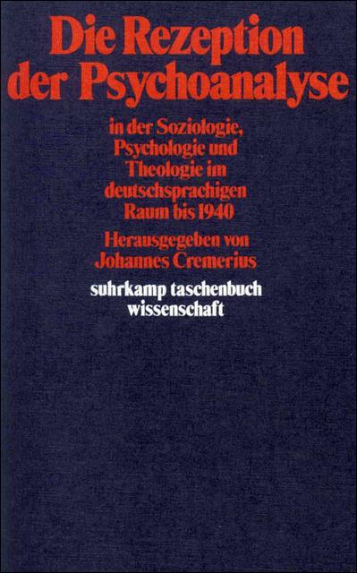Die Rezeption der Psychoanalyse