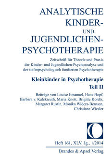 Analytische Kinder- und Jugendlichen-Psychotherapie (AKJP)