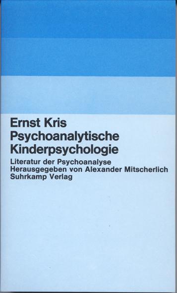 Psychoanalytische Kinderpsychologie