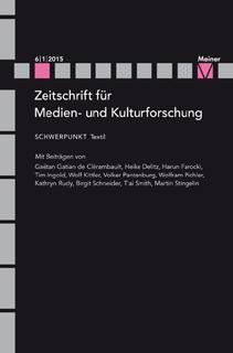Zeitschrift für Medien- und Kulturforschung