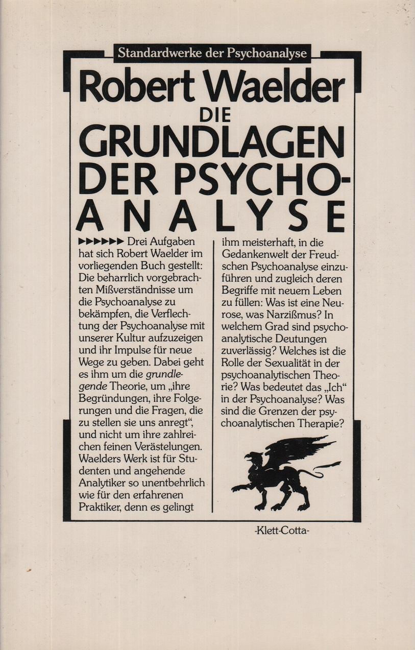 Die Grundlagen der Psychoanalyse