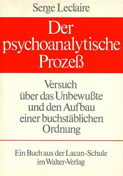 Der psychoanalytische Prozeß