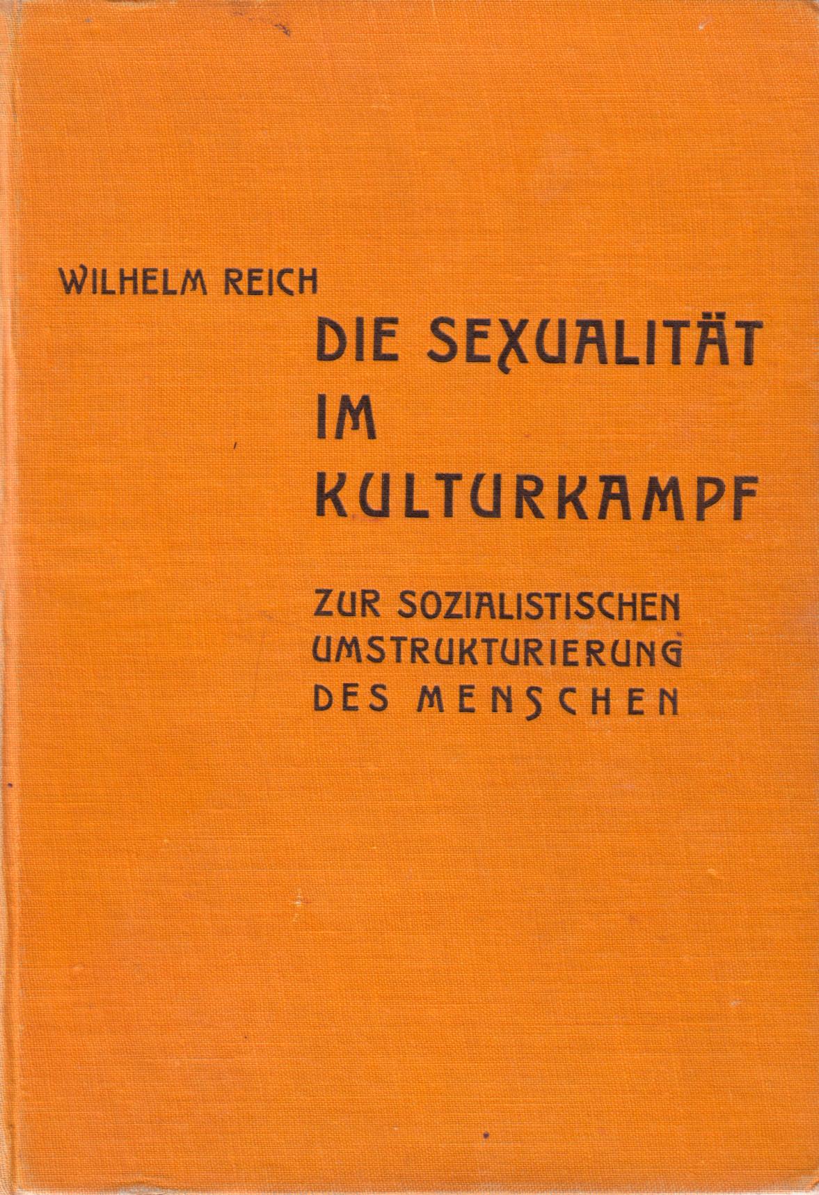 Die Sexualität im Kulturkampf