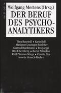 Der Beruf des Psychoanalytikers