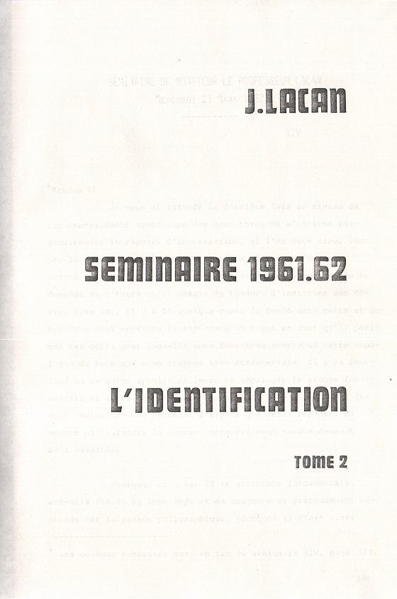 L`Identification