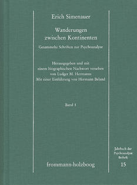 Gesammelte Schriften zur Psychoanalyse