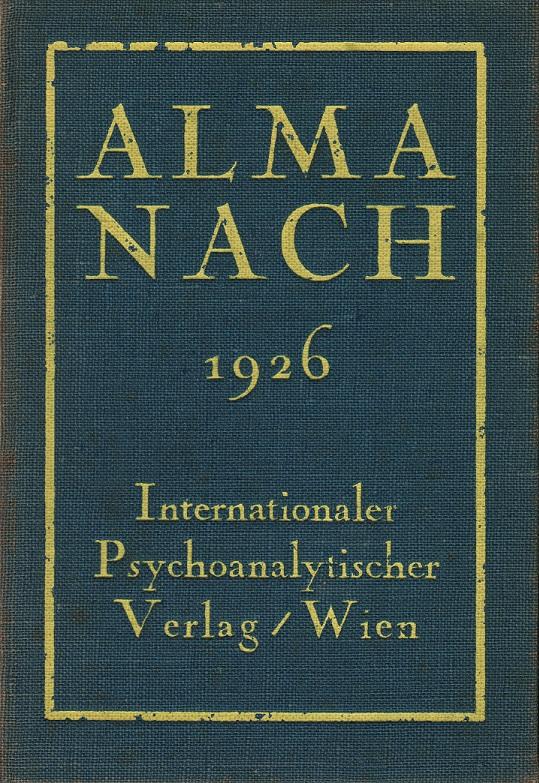 Almanach der Psychoanalyse 1926
