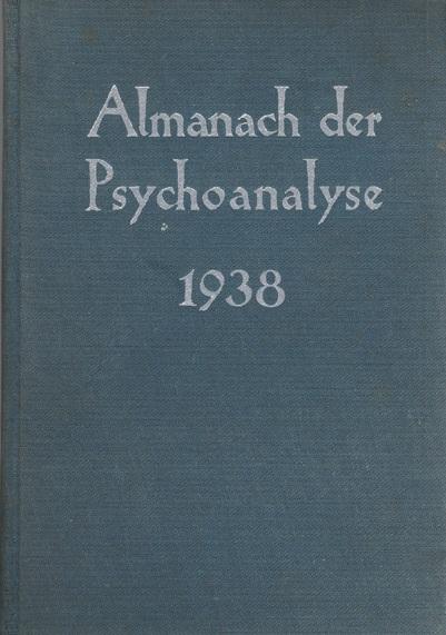 Almanach der Psychoanalyse 1938