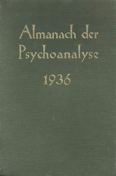 Almanach der Psychoanalyse 1936