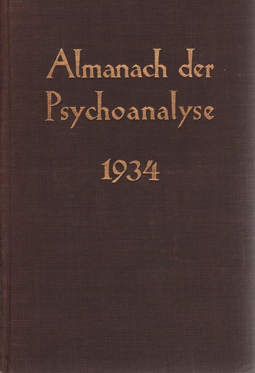Almanach der Psychoanalyse 1934