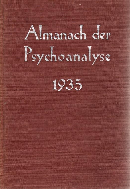 Almanach der Psychoanalyse 1935