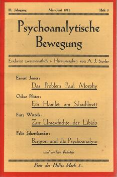 Die psychoanalytische Bewegung