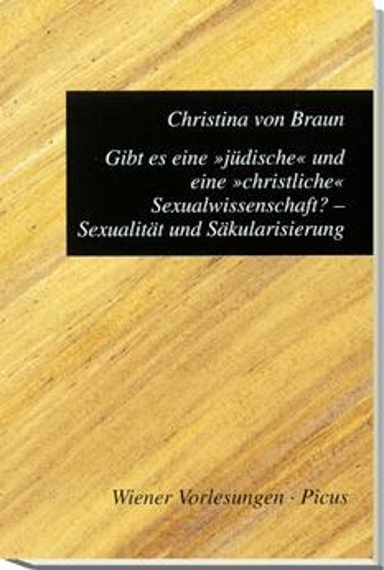 Gibt es eine »jüdische« und eine »christliche« Sexualwissenschaft?