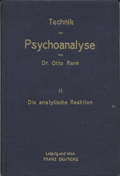 Technik der Psychoanalyse II