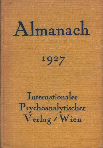 Almanach der Psychoanalyse 1927