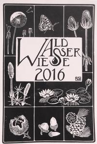 Rhöner Künstlerkalender 2016: »Wald Wasser Wiese«