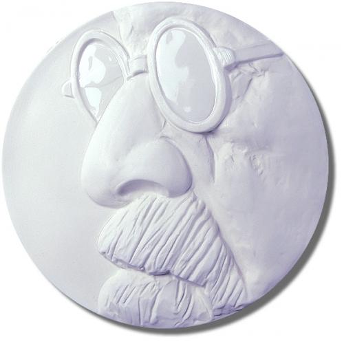 Lettin-Medaille (teilglasiert)