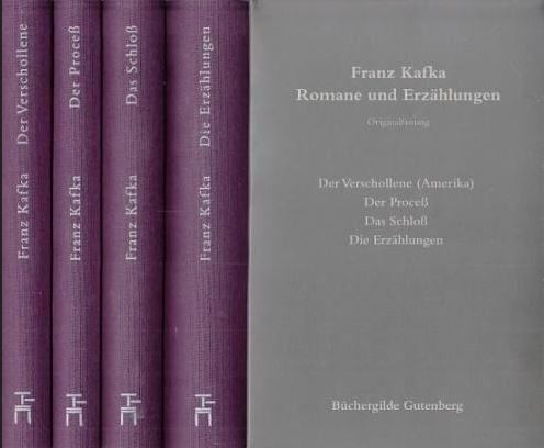 Romane und Erzählungen. Originalfassung in vier Bänden