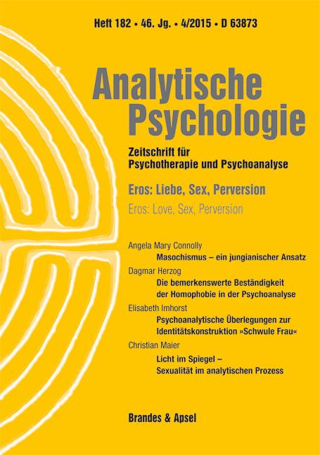 Analytische Psychologie - Zeitschrift für Psychotherapie und Psychoanalyse