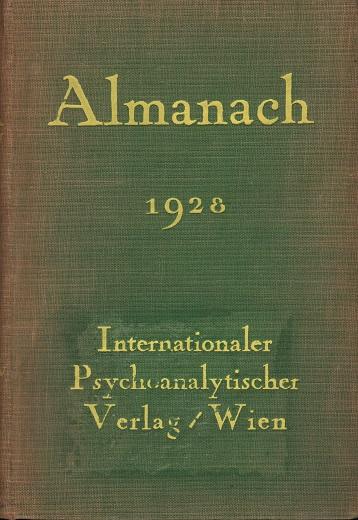 Almanach der Psychoanalyse 1928