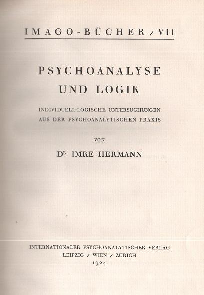 Psychoanalyse und Logik