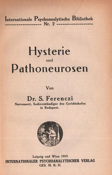 Hysterie und Pathoneurosen