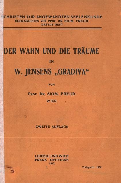 """Der Wahn und die Träume in W. Jensens """"Gradiva"""""""