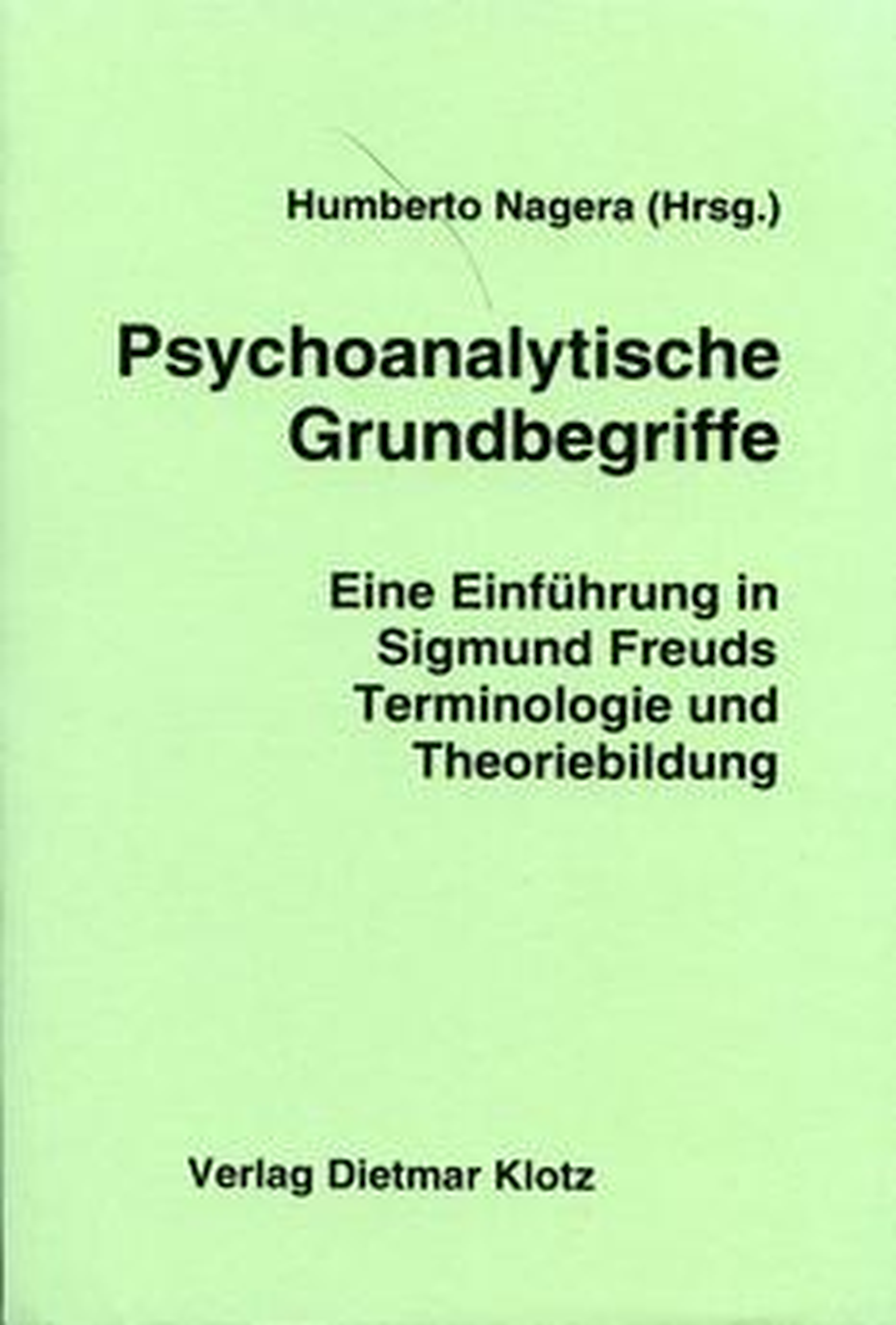 Psychoanalytische Grundbegriffe