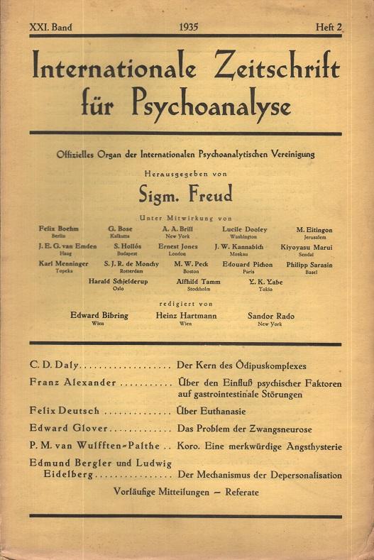 Internationale Zeitschrift für Psychoanalyse, 1935, Heft 2