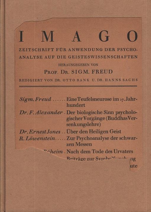 IMAGO, 1923, Ausgabe 1, IX. Band