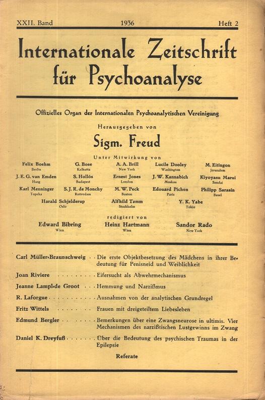 Internationale Zeitschrift für Psychoanalyse, 1936, Heft 2