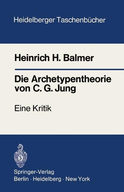 Die Archetypentheorie von C.G. Jung