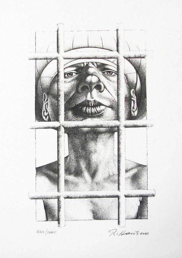 »Adam hinter Gittern«