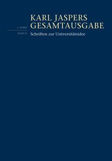 Schriften zur Universitätsidee