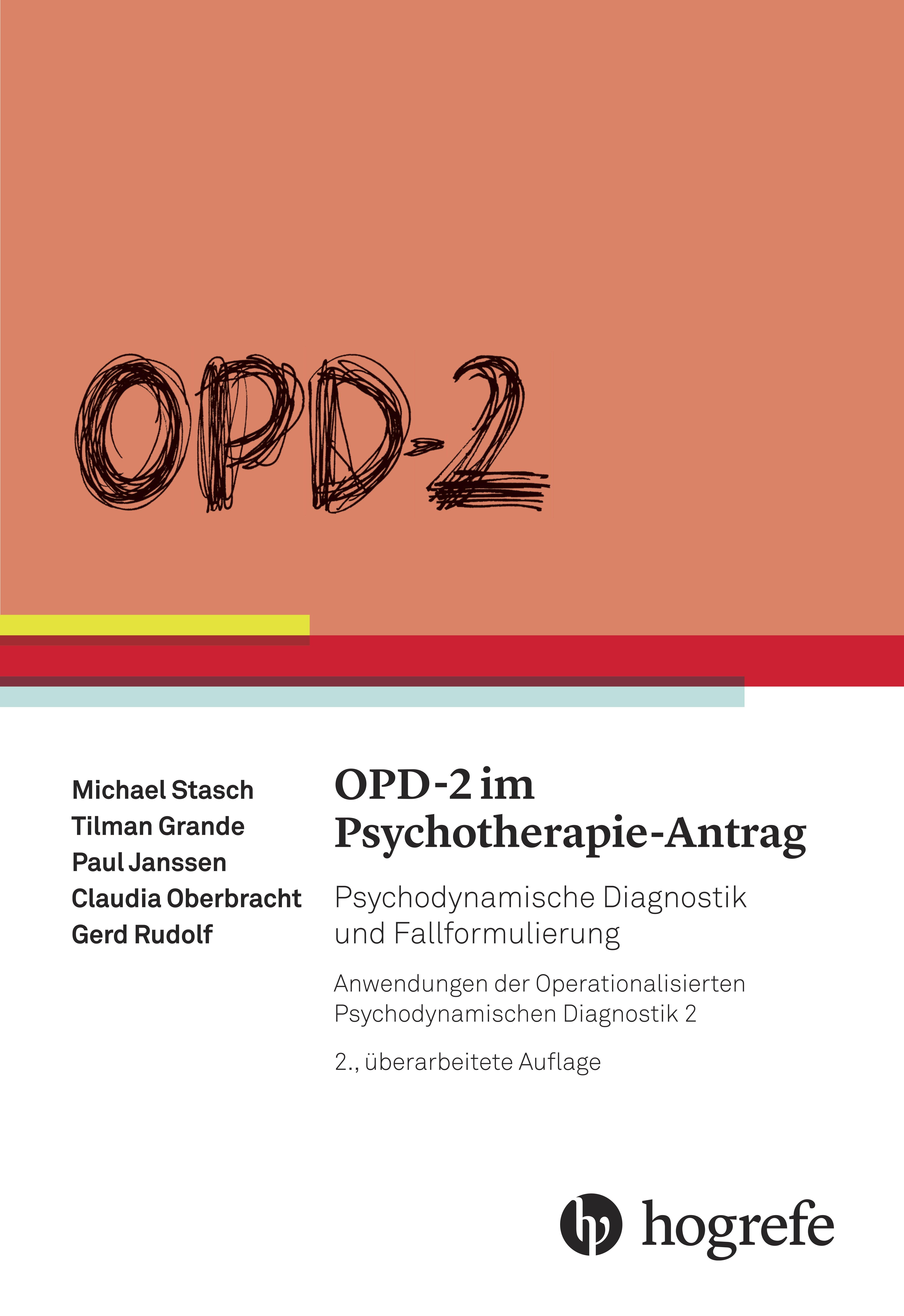OPD–2 im Psychotherapie-Antrag